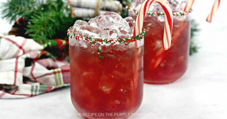 Naughty Elf Cocktail | Christmas Rum Cocktail for the Holiday Season!