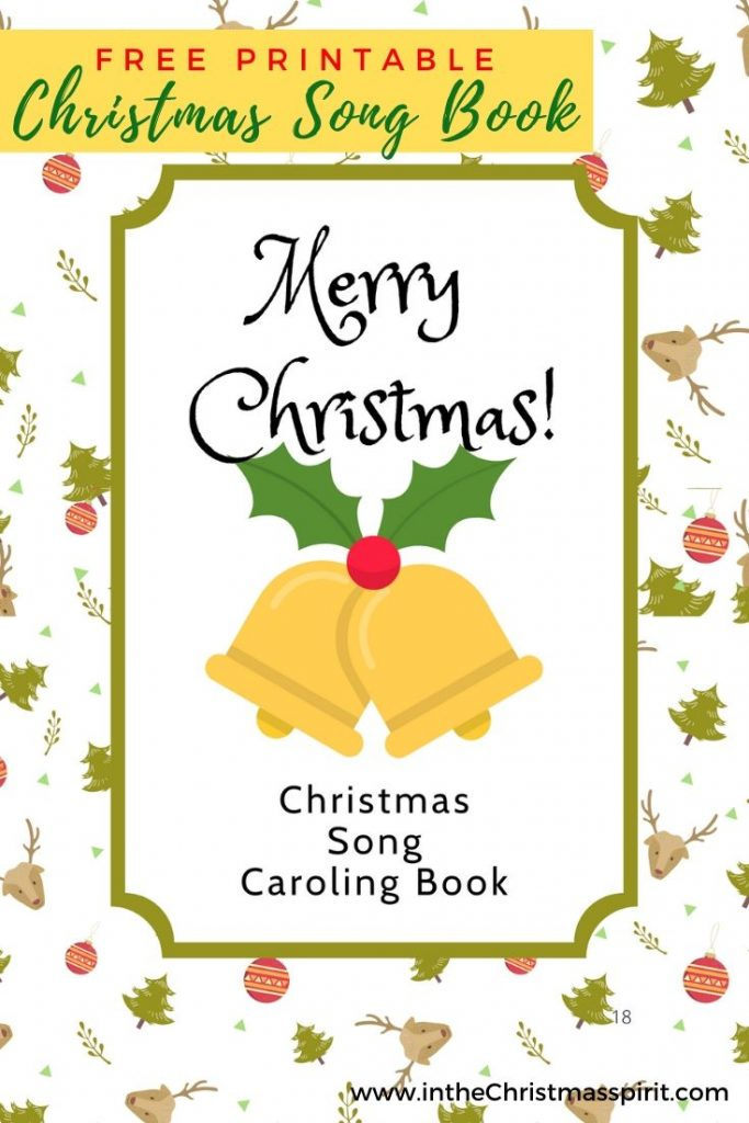 christmas caroling books printable