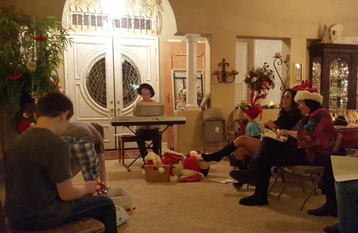 christmas eve traditions singing christmas carold