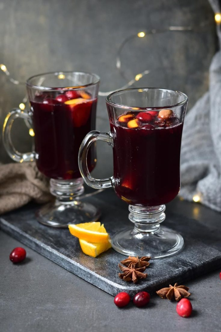 Cranberry Orange Mulled Wine Recipe