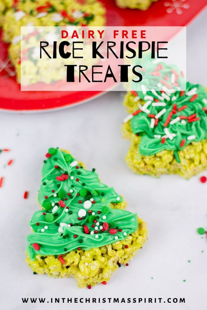 dairy free rice krispie treats recipe