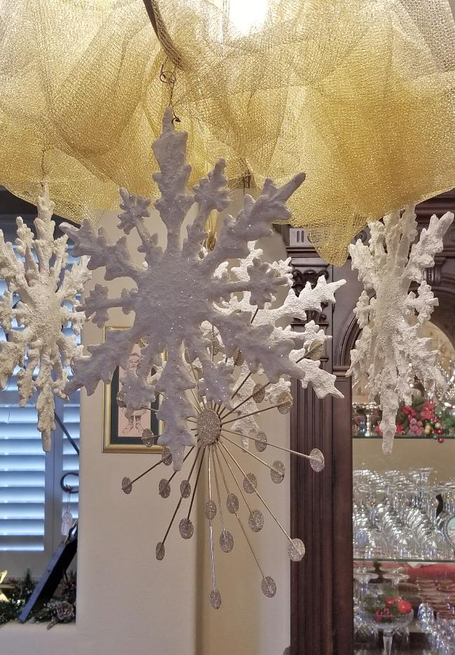 history of ornaments snowflakes
