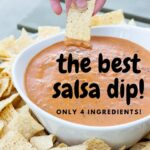cream cheese salsa dip best pinterest
