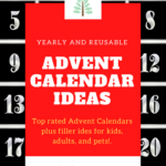 advent calendar filler ideas pinterest