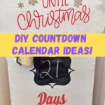christmas countdown calendars diy